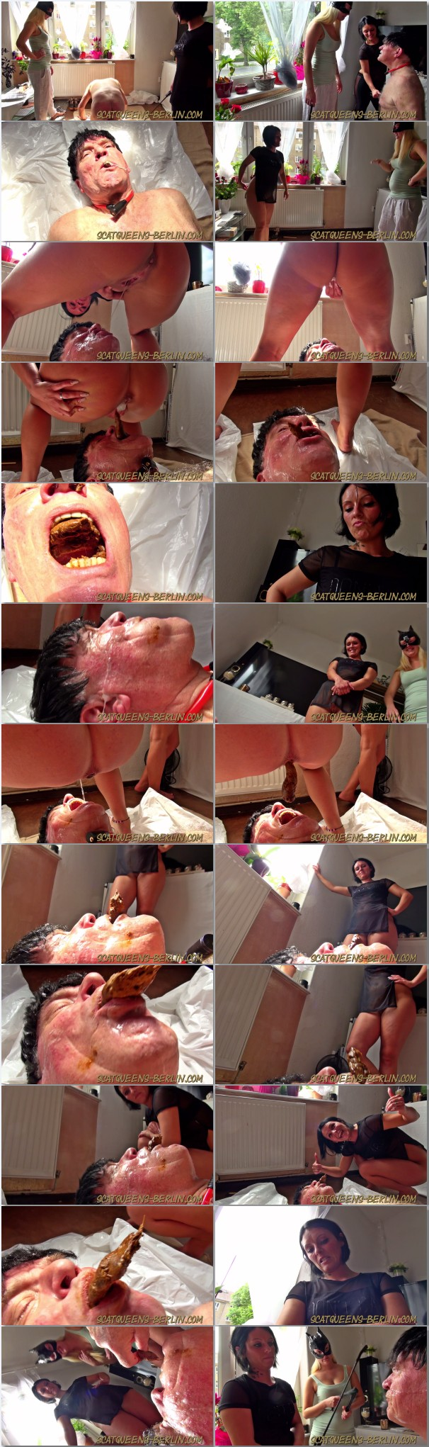femdom german scat feeding videos. Two experienced strict german scat  mistresses are humiliating a toilet slave, peeing and pooping into his  mouth making ...