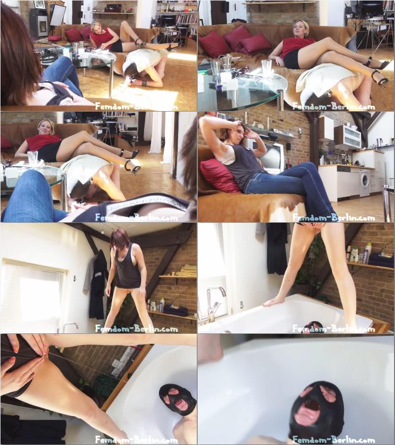 Mistresses pee slave femdom